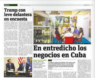 Trump con leve delantera en encuesta | Metro Puerto Rico