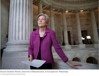 The letter Senate Republicans don't want a female U.S. Senator to read
