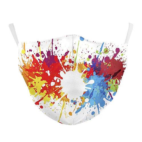 Paintball Splash Cotton Mask