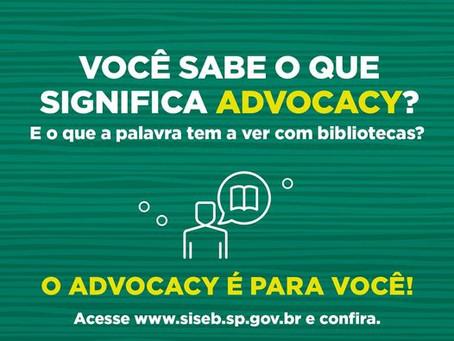 Cada um de nós pode contribuir com o advocacy pelas bibliotecas!