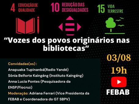 O que faz uma biblioteca ser parceria da Agenda 2030?