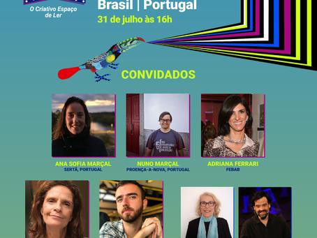 Compartilhando experiências e saberes entre Brasil e Portugal