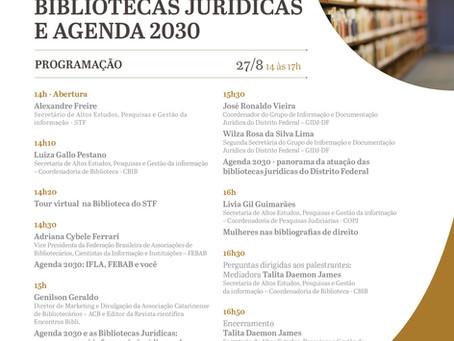 E as discussões acerca da Agenda 2030 continuam!