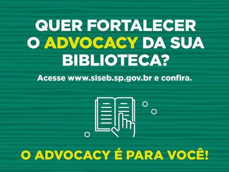 Você pode promover ações de advocacy!