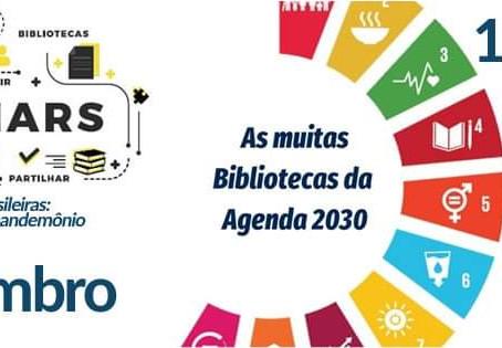 Conversando sobre as bibliotecas com os colegas portugueses
