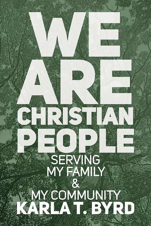 We Are Christian People