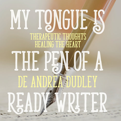 My Tongue is the Pen of a Ready Writer
