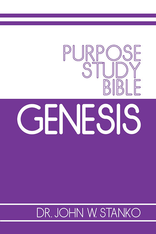 Purpose Study Bible: Genesis