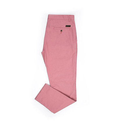 Pantalón Casual Slim Fit Rosa