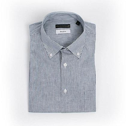 Camisa Casual en Color Gris