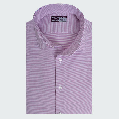 Camisa Slim Fit Trend  9f190ee8e58