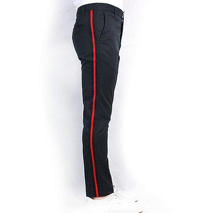 Pantalón Slim Fit marino casual