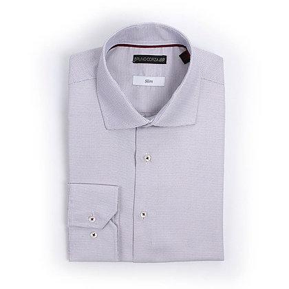 Camisa de Vestir en Color Gris
