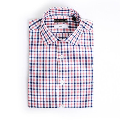 Camisa Slim Fit a Cuadros