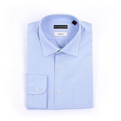 Camisa de Vestir Color Azul