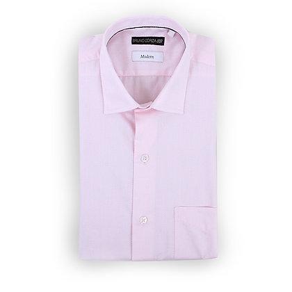 Camisa Modern Fit rosa claro