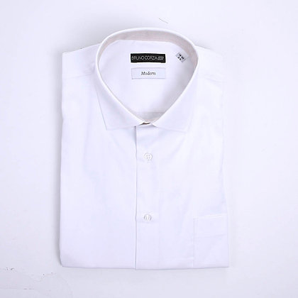 Camisa de Vestir en Color Blanco