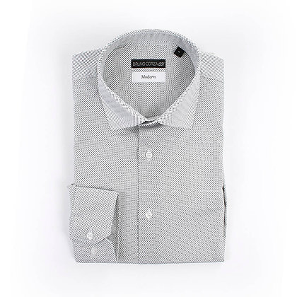 Camisa Casual Color Gris