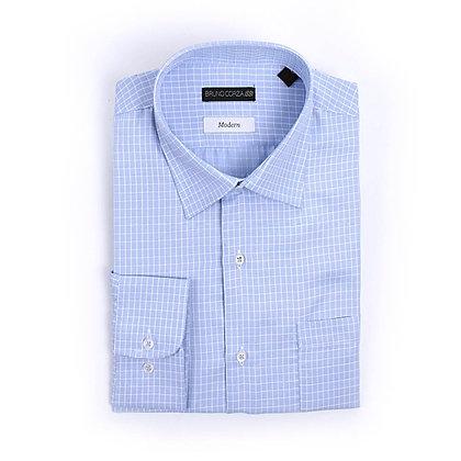 Camisa de Vestir en Color Azul