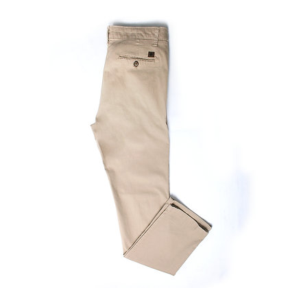 Pantalón Casual Color Caqui