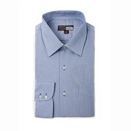 Camisa Formal Color Azul Medio