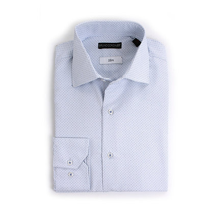 Camisa Slim Fit azul