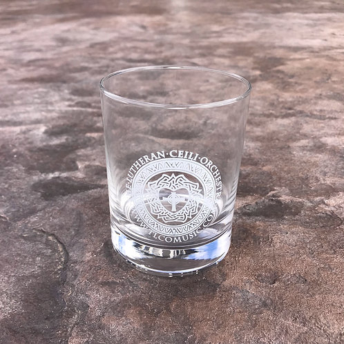 TLCO Logo Whiskey Glass