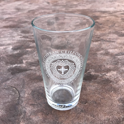 TLCO Logo Pint Glass