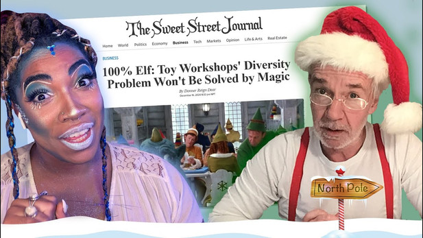 Santa Introduces the Workshop to Wokeness [Remote Short]