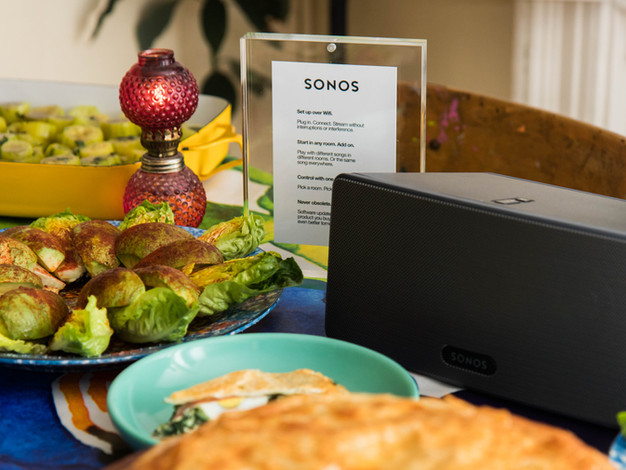Sonos Playlist Potluck x Lucky Peach