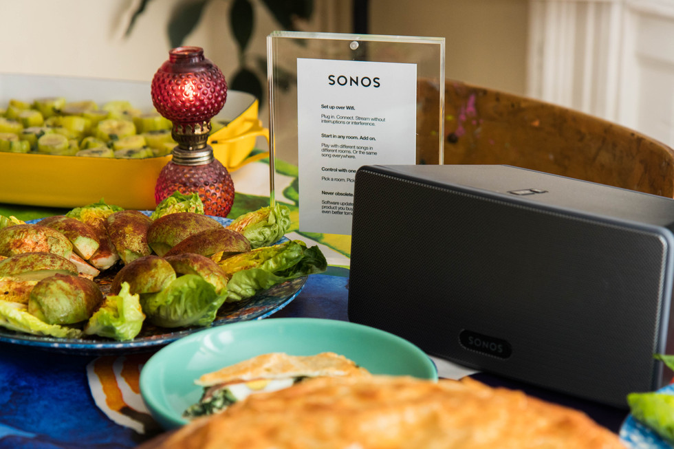 Sonos Playlist Potluck Featuring Lucky Peach | Editorial/Branded
