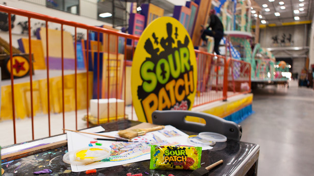 Sour Patch Kids: Macy's Day Parade Float [Photography]