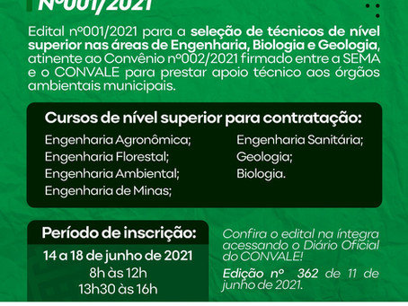 PROCESSO SELETIVO Nº001/2021