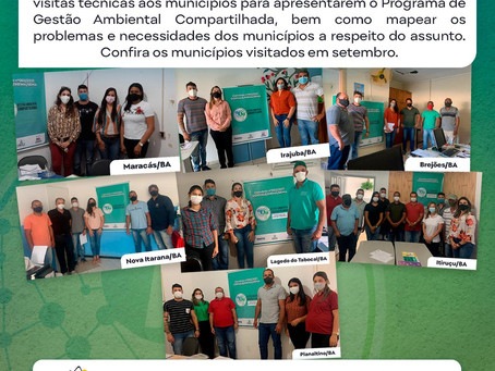 GAC: VISITAS TÉCNICAS DE SETEMBRO/21