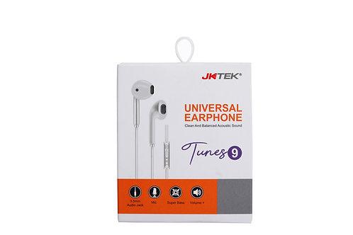 Universal Earphone with inbuilt mic & Volume control