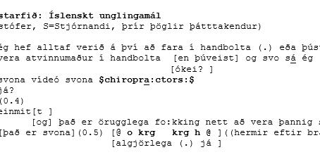 Hnykkjarar, framtíðardraumar og tilvitnanir í YouTube