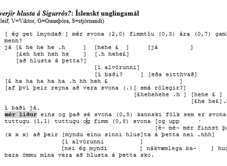 Mér líður eins og þetta sé góð hugmynd!