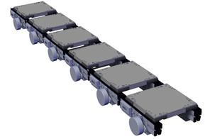 Zero Contact Zoned Conveyors