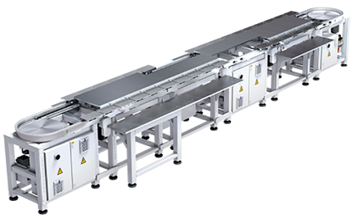 Liner indexing System, Linear Indexing Conveyor, Servo Conveyor