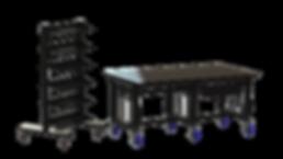 Adjustable Welding Table, BuildPro Welding Table, Welding Fixture, Welding Cart, Mobile Welding Table