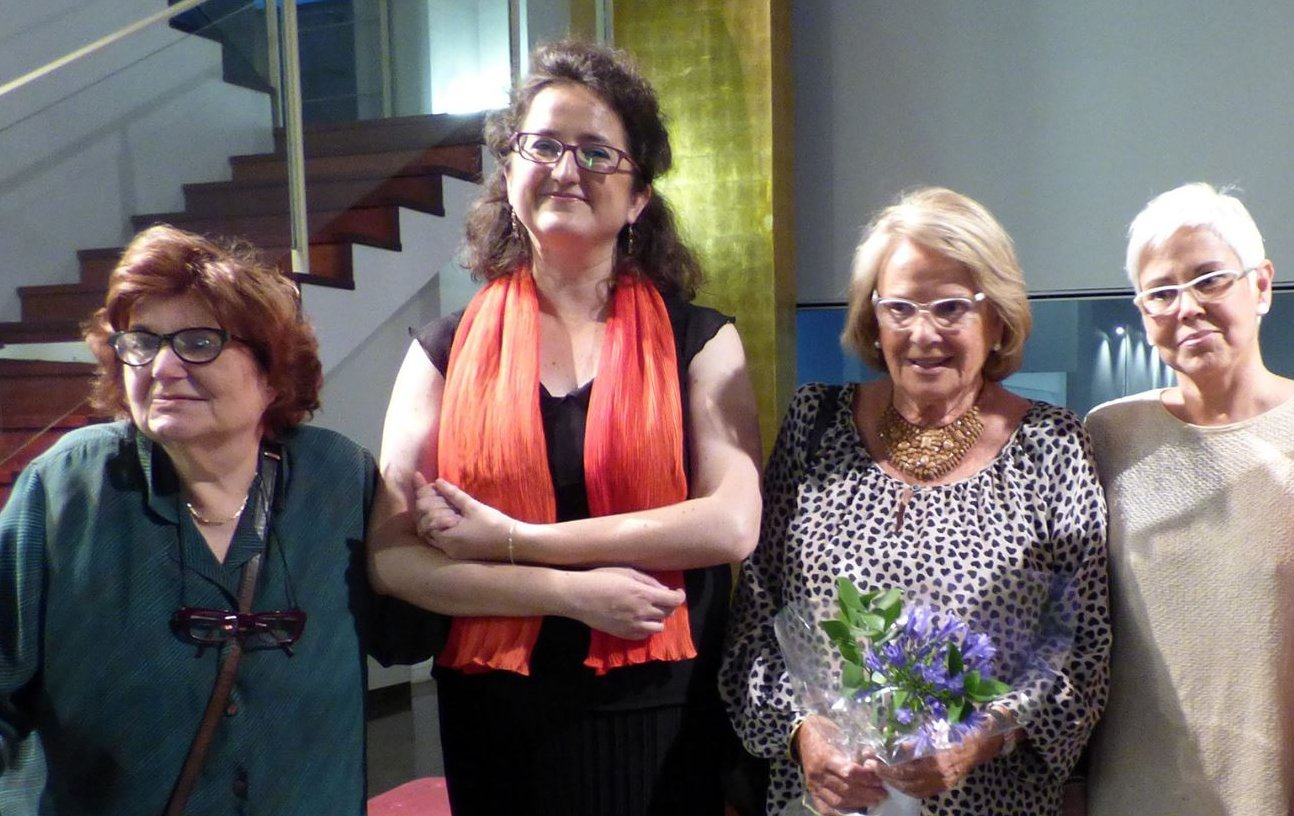 Amb M. Torrents, C. Garriga i A, Torra