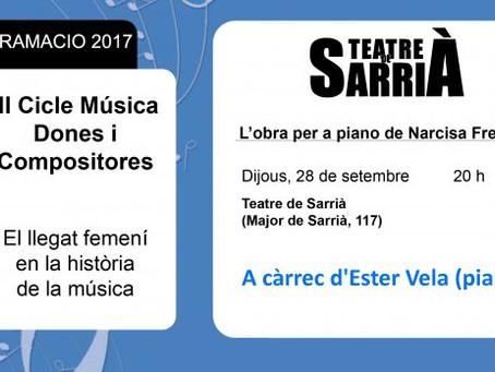 Narcisa Freixas, una compositora encara per re-descobrir