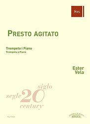 Presto agitato, trompeta i piano, Ester Vela