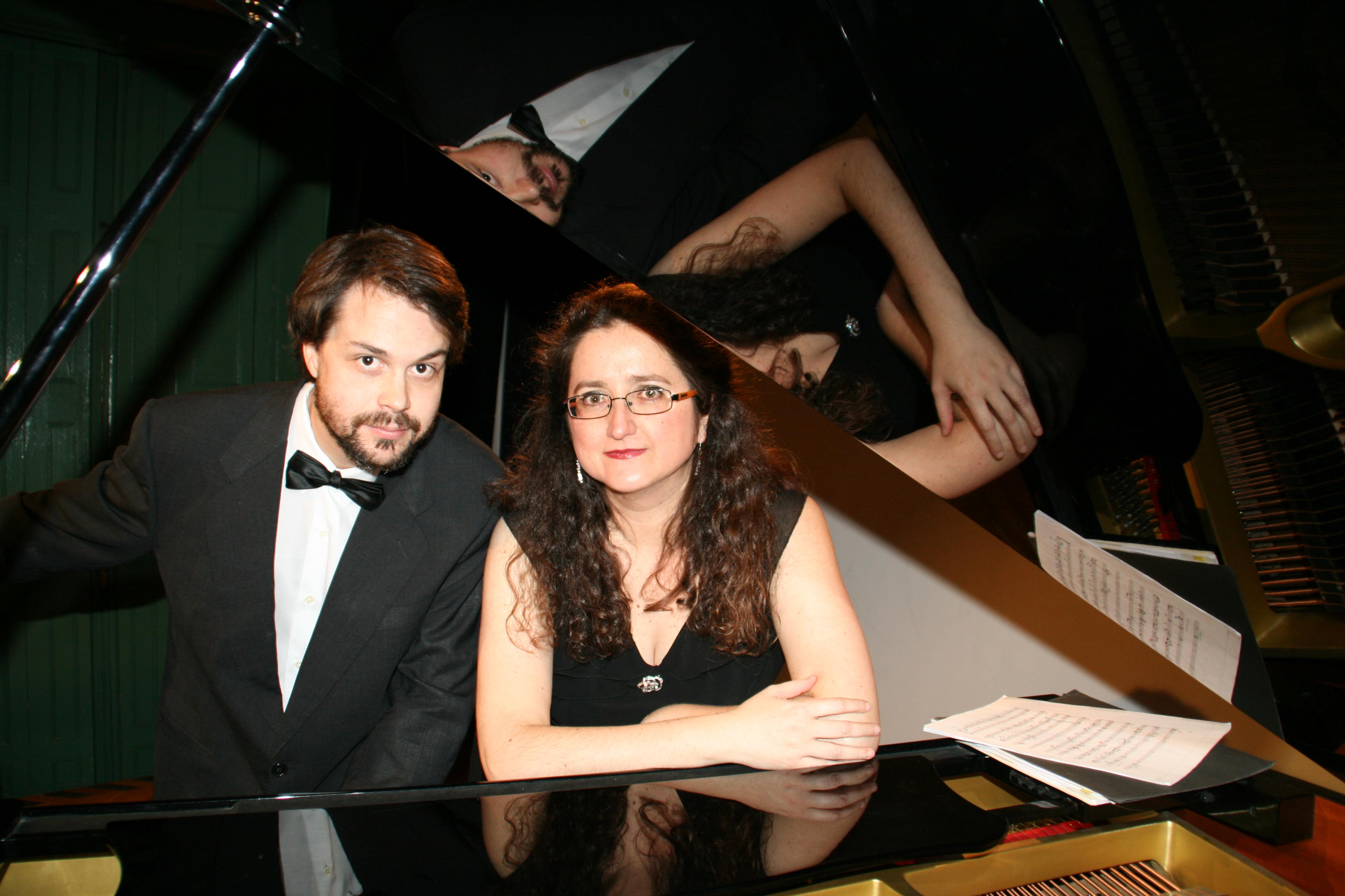 Amb el violoncel·lista Marc Renau