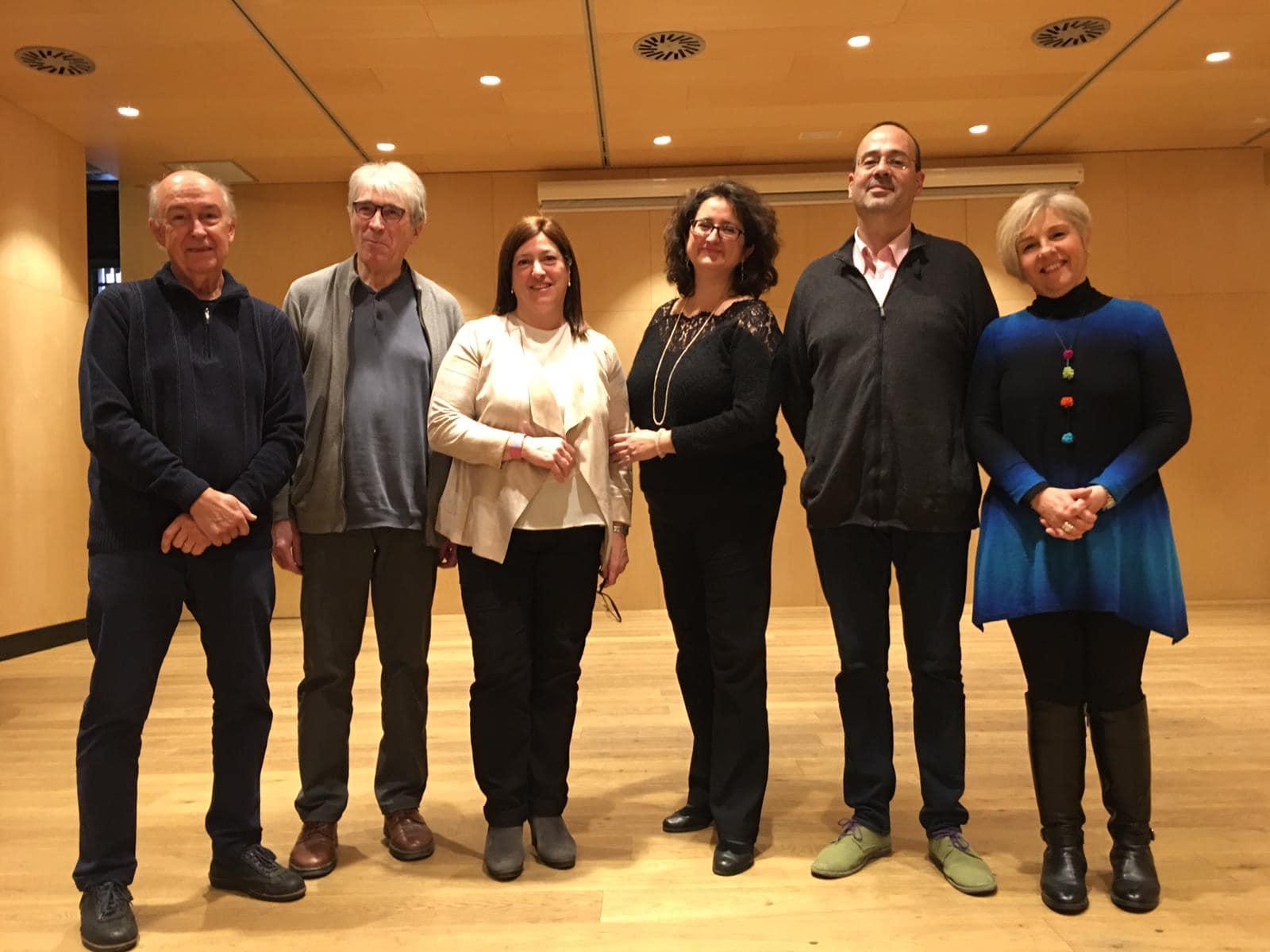 Jurat Premi N. Freixas: Attenelle, Colomer, Garrigosa, Vela, Parron i Lladó