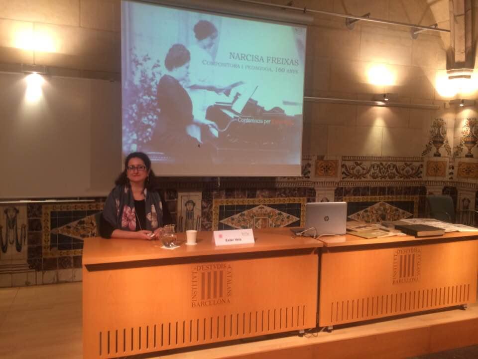 Conferència a l'Institut d'estudis Catalans