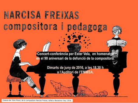 Concert-conferència a l'EMM de Sant Andreu