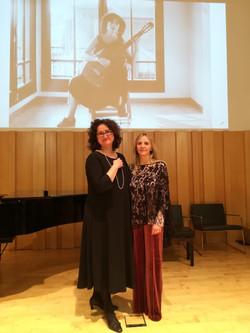 Conservatori de Vic amb Anna Casadevall