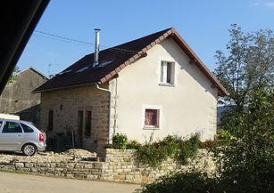 maison avec pierre apparente