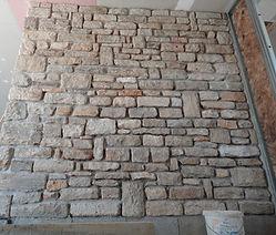 mur maçonné